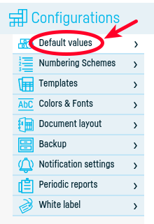 How can I add the issuer to the invoice? - step 3