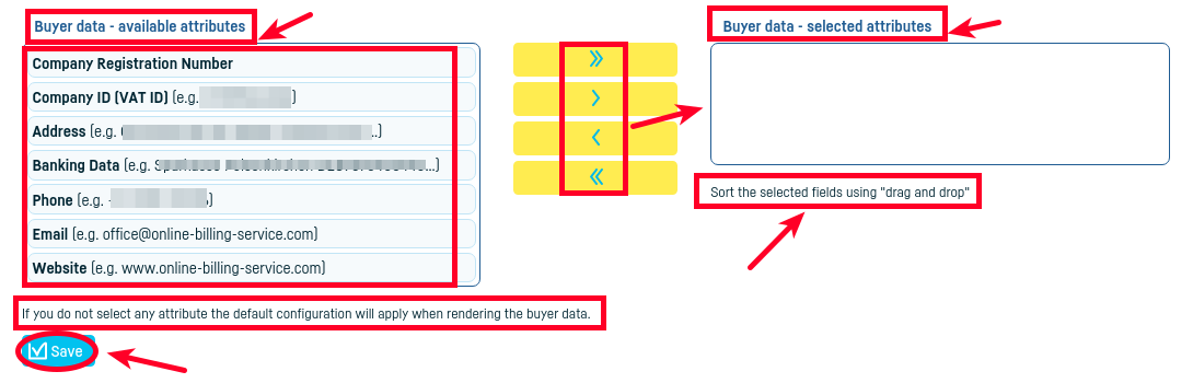 Document layout settings - step 4